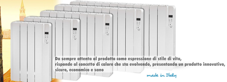 Warm s r l radiatori for Scaldasalviette elettrico basso consumo