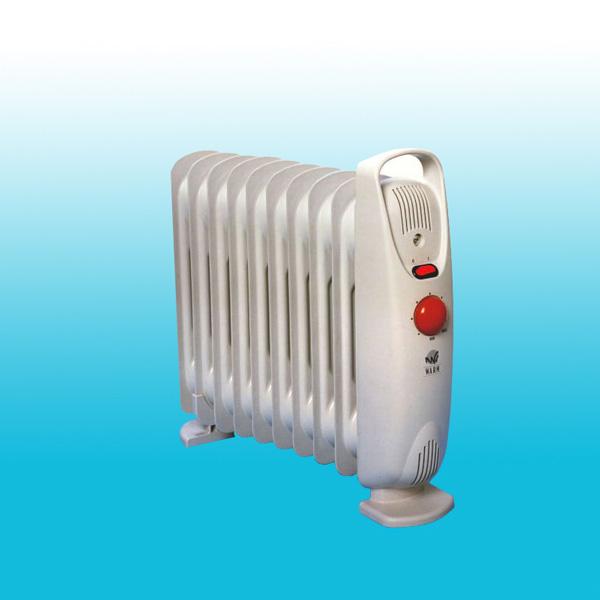 Radiatore elettrico ad olio baby 1000W bianco