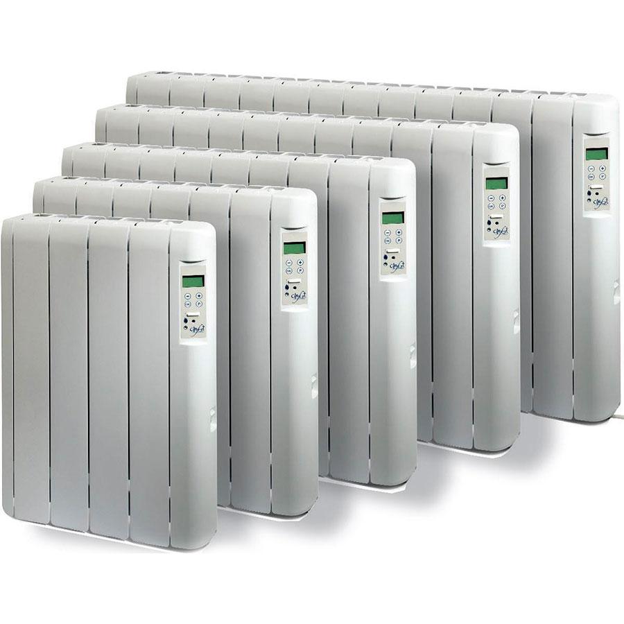 Radiatori elettrici ad olio a basso consumo serie Confort