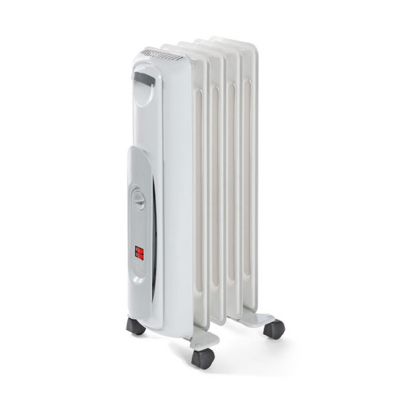 Oil filled radiator WP2 1000W marble grey