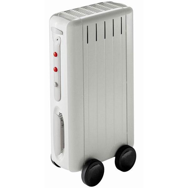Radiatore elettrico ad olio COMPACT 1500W bianco
